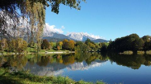 FOTKA - Podzimní procházka okolo Ritzensee - Ritzensee