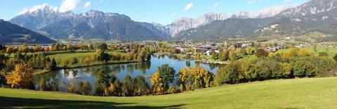 FOTKA - Podzimní procházka okolo Ritzensee - Pohled ze shora