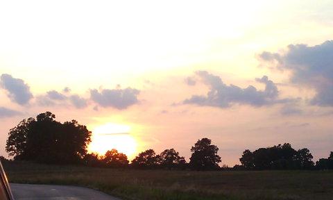 FOTKA - chvíli před setměním