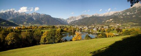 FOTKA - Podzimní procházka okolo Ritzensee - Panoramko Ritzensee