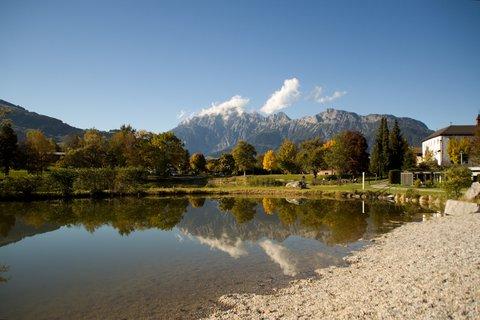 FOTKA - Podzimní procházka okolo Ritzensee - Koupaliště a Leoganger Steinberge