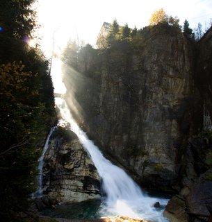 FOTKA - Výlet do Bad Gastein - Vodopád v centru Bad Gastein
