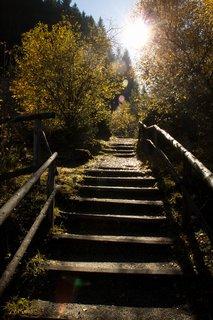 FOTKA - Výlet do Bad Gastein - Schůdky nahoru