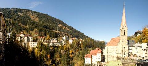 FOTKA - Výlet do Bad Gastein - Panorama s kostelem