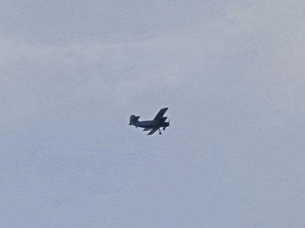 FOTKA - Tak tohle aero jsem na letišti ještě neviděla.