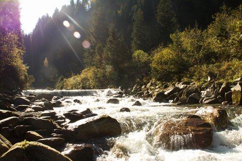 FOTKA - Výlet do Bad Gastein - Potok proti slunci