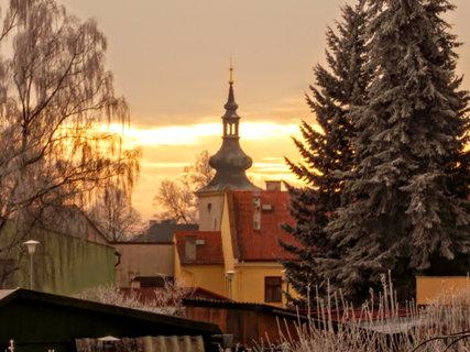 FOTKA - Kostelík v ledové záři