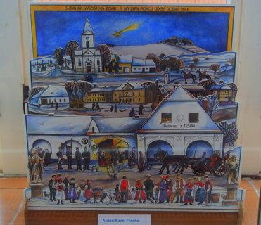 FOTKA - Betlém od Karla Franty, malíře, kterého mám ráda