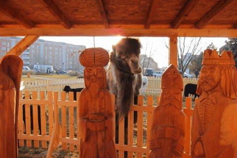 FOTKA - Dřevěný betlém