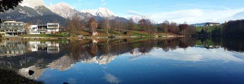 FOTKA - Letos asi naposledy na Ritzensee - Panorama zrcadlení