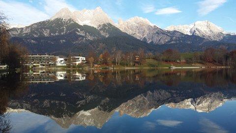 FOTKA - Letos asi naposledy na Ritzensee - Zrcadlení hor