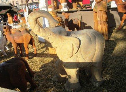 FOTKA - slon z betlému