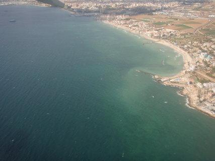 FOTKA - moře z letadla