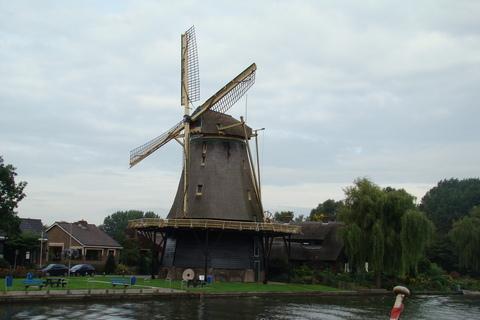 FOTKA - větrný mlýn