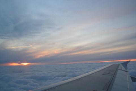 FOTKA - pohled z letadla nad Prahou
