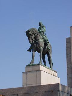 FOTKA - J.Žižka - největší jezdecká socha (B.Kafka)