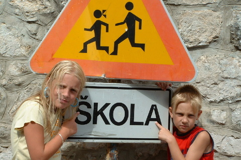 FOTKA - hurá do školy