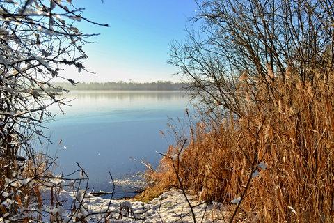 FOTKA - Zamrzlé suchdolské pískovny..