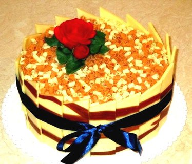 FOTKA - pestrý dortík+