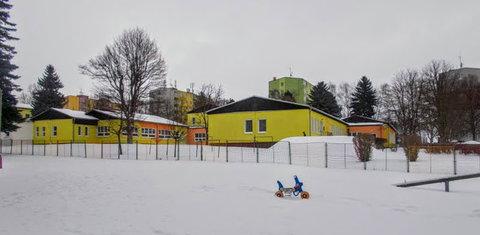FOTKA - Školka pod sněhem