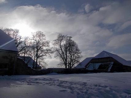 FOTKA - Hrad v opravě- zima