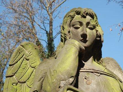 FOTKA - na Malostranském hřbitově v Praze