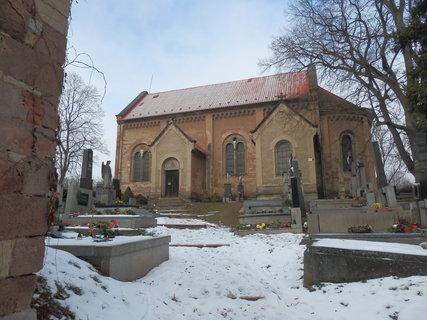 FOTKA - Kostel sv. Víta v obci Kvílice na Slánsku