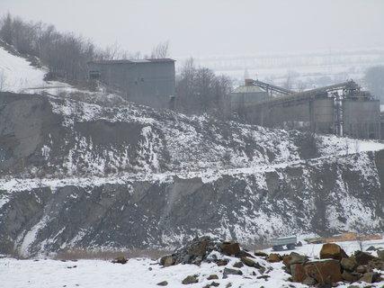 FOTKA - Lom v zimě