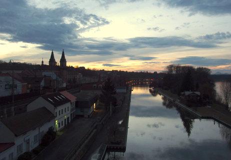 FOTKA - Večerní město