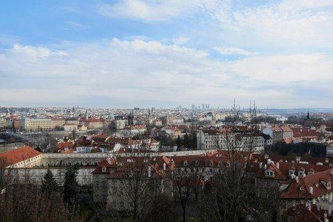 FOTKA - Výhled ze Svatováclavské vinice