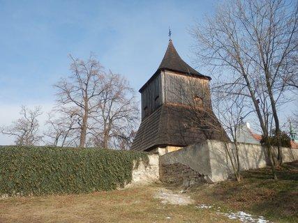 FOTKA - Tuřany (Slánsko) * dřevěná zvonice *