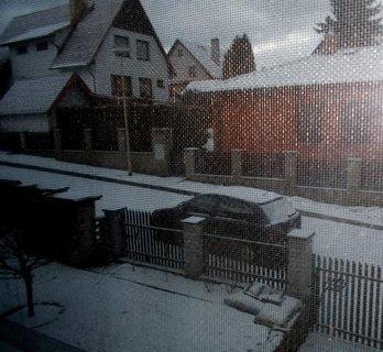 FOTKA - Sobotní ráno za oknem a síťkou