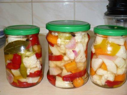 FOTKA - Naložená syrová zelenina