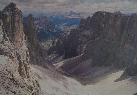 FOTKA - Masív Sella v Dolomitech