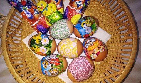 FOTKA - pár velikonočních vajíček