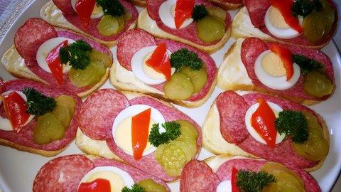 FOTKA - chlebíčky
