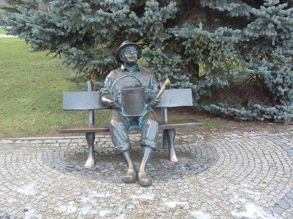 FOTKA - Lavička zahradníka