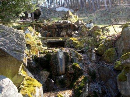 FOTKA - Málo vody u vodopádu