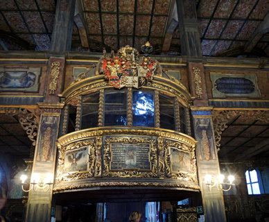 FOTKA - Swidnica- královská lodžie kostela Míru