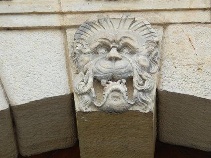 FOTKA - Moravská Třebová - zámecká brána- detail