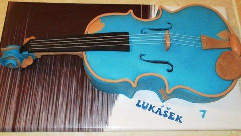 FOTKA - modrá kytara