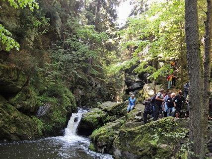 FOTKA - vodopády na říčce Doubravce