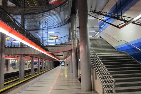 FOTKA - Nástupiště metra stanice Prosek