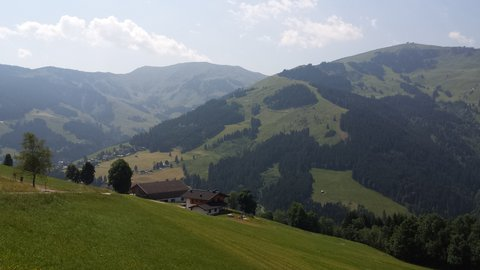 FOTKA - Procházka na Grammlergut -  Pohled do údolí