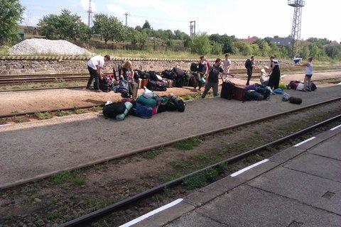 FOTKA - stěhování tábora