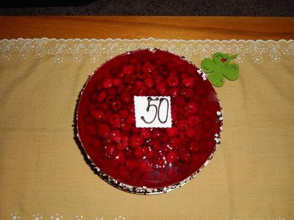 FOTKA - Čokoládový dortík s malinami