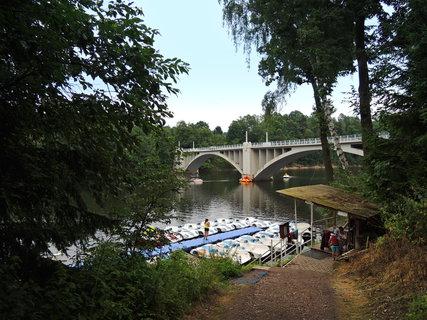 FOTKA - Pastviny, most přes přehradní nádrž