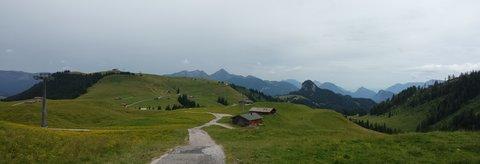 FOTKA - Loferer Almenwelt - Pohled zpátky