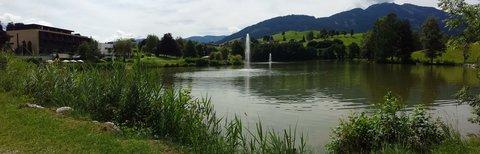 FOTKA - Jezero Ritzensee a vyhlídka Kühbühel - Jezero