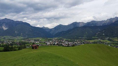 FOTKA - Jezero Ritzensee a vyhlídka Kühbühel - Saalfelden